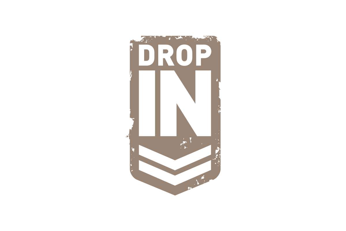 Logo, Drop in