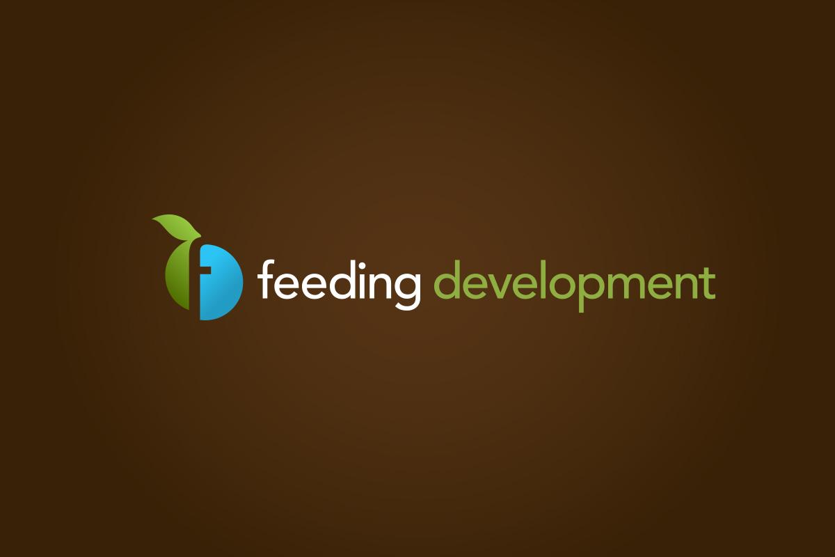 Logo on background, Feeding Development