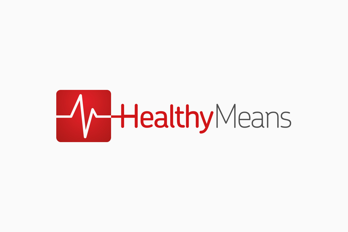 Selected logo, Healthy Means