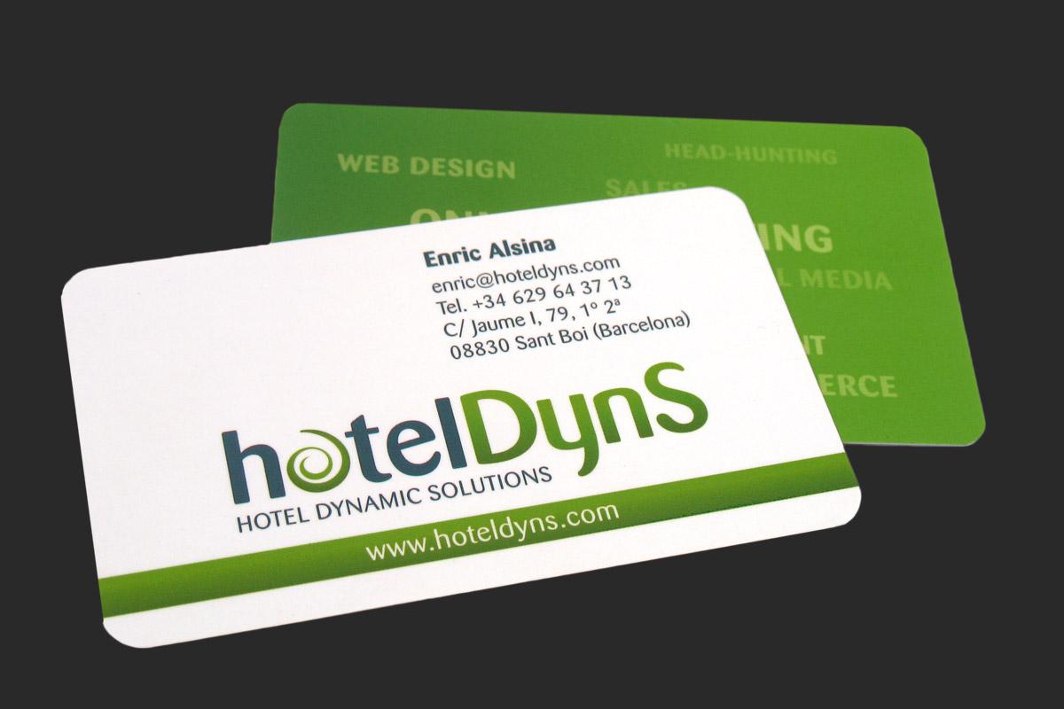 hotelDyns businesscard