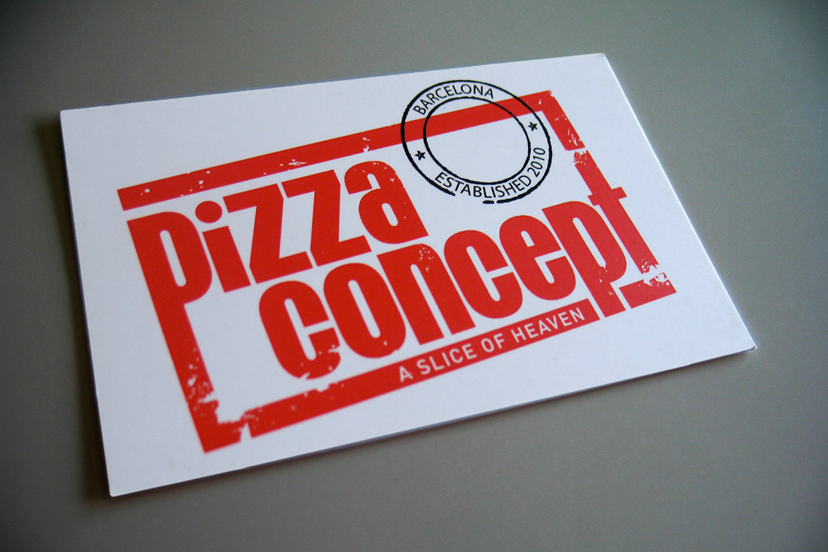 Pizza Concept businesscard