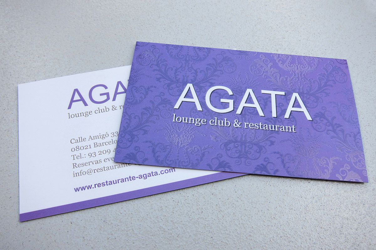 Business cards Agata
