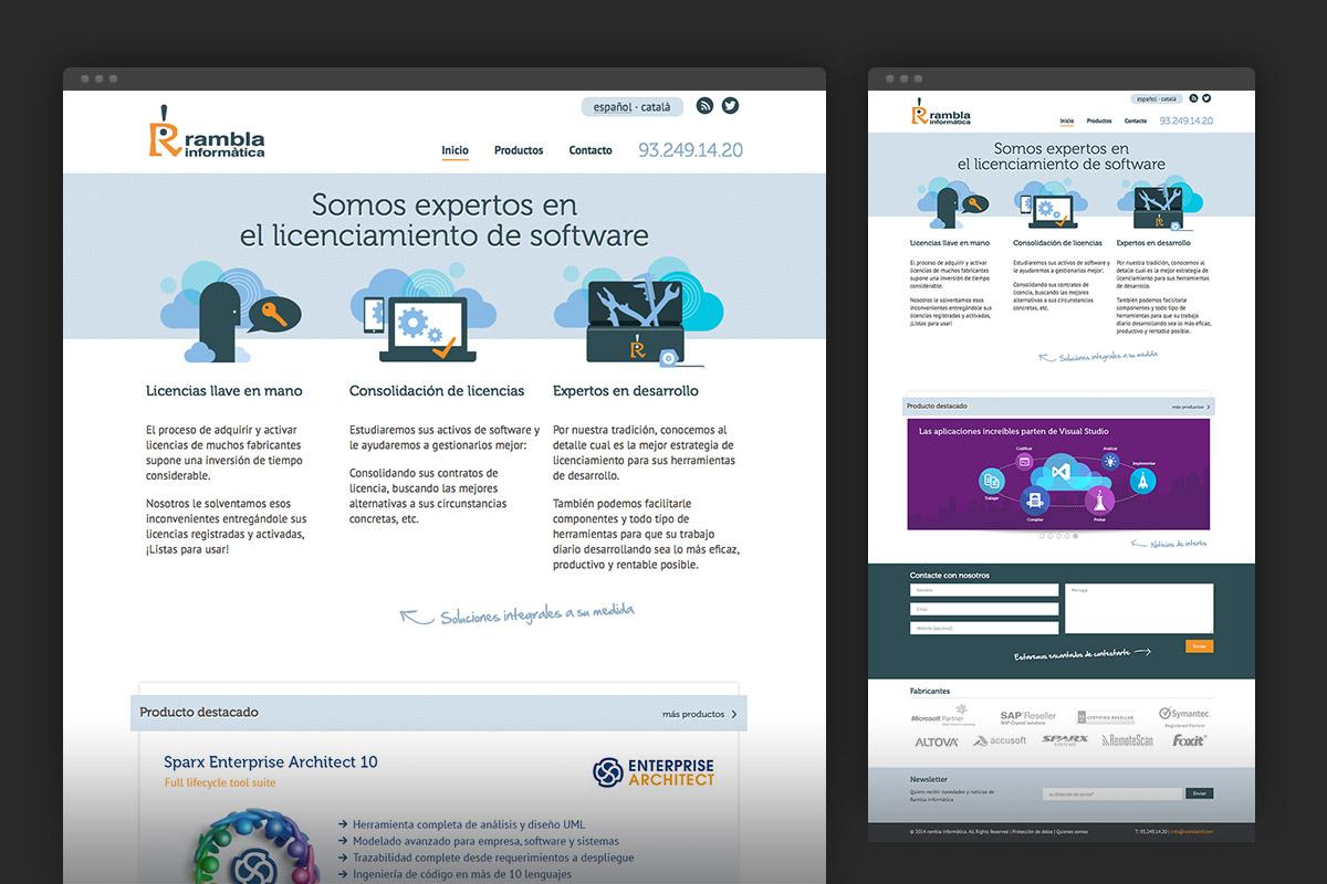 Rambla Informàtica homepage