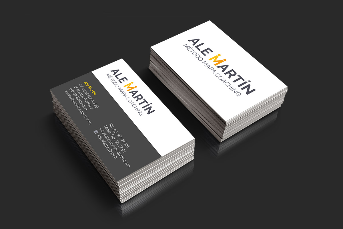 Businesscard for Ale Martín