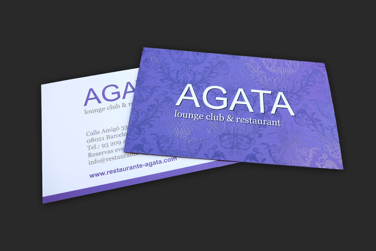 Various businesscard designs werckstation designs of businesscards for different clients businesscard design for agata magicingreecefo Image collections