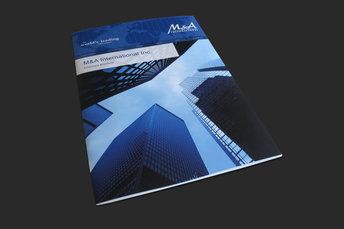 Corporate Brochure, cover