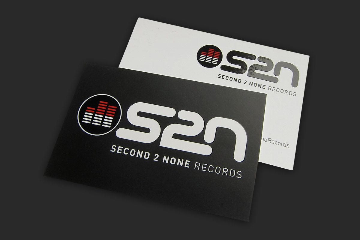 Businesscard design for S2N records