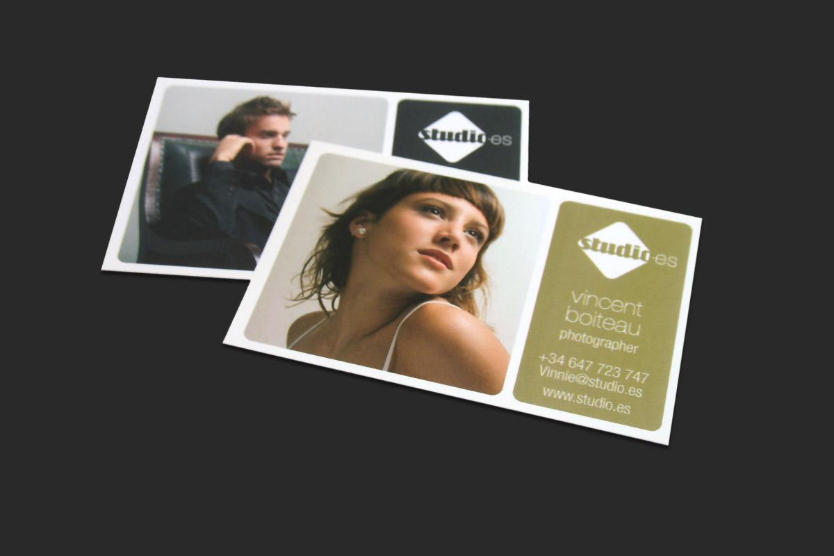 Businesscard design for Studio.es